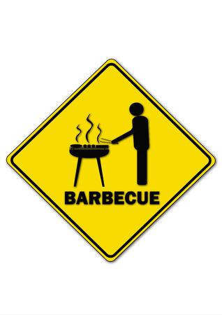 Barbecue Ilustrace