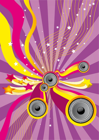 Fun Music - Flyer for your party Vector