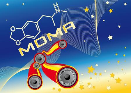 ecstasy: MDMA - �xtasis Vectores