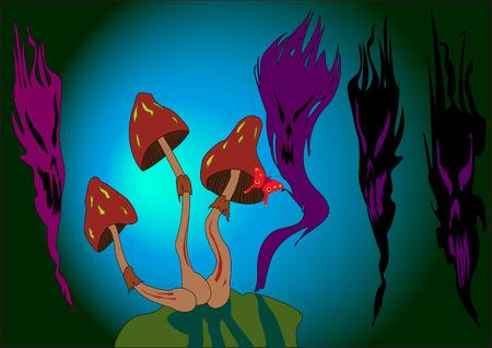 mescaline: Magic Mushrooms