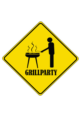 bbq ribs: Grillparty