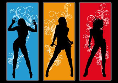 Dancing Queens Vector