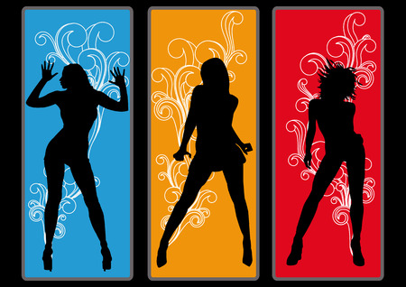 Dancing Queens Vector