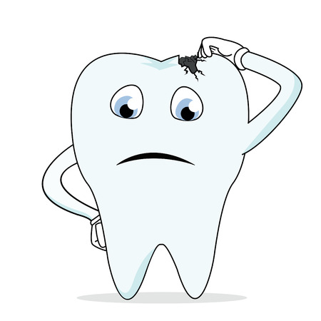 tooth root: Caries