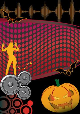 halloween party: Flyer voor uw feest of halloween fest