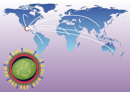 pandemic: flu pandemic of h1n1 virus