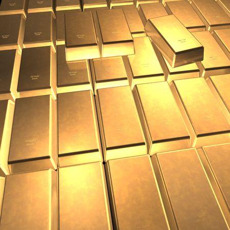 Fine Gold 3d photo