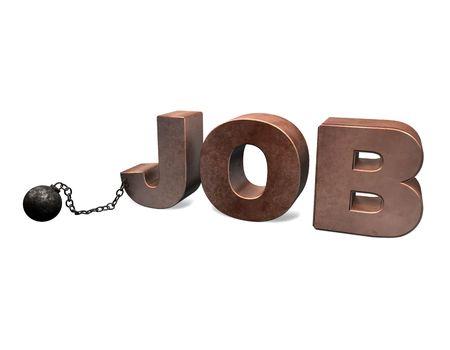 office slave: Slave of Job 3D