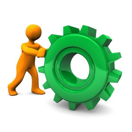 ambiente laboral: Verde Gear