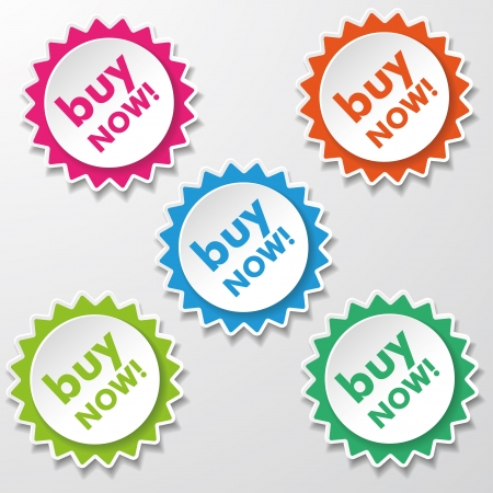 novelty: Colorful star paper stickers with text Buy Now