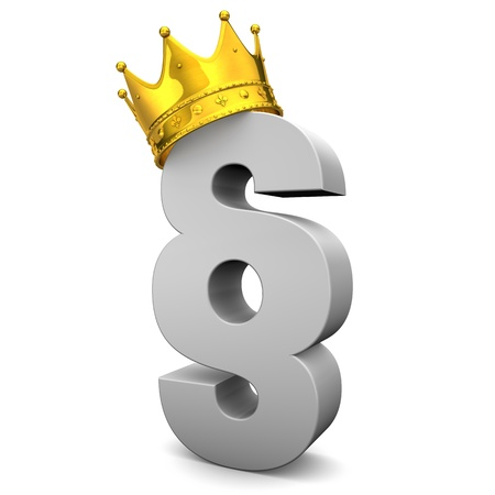 prevalence: Grey paragraph with golden crown on the white background.
