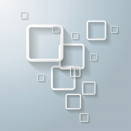 oblongs: Abstract rectangle on the grey background.