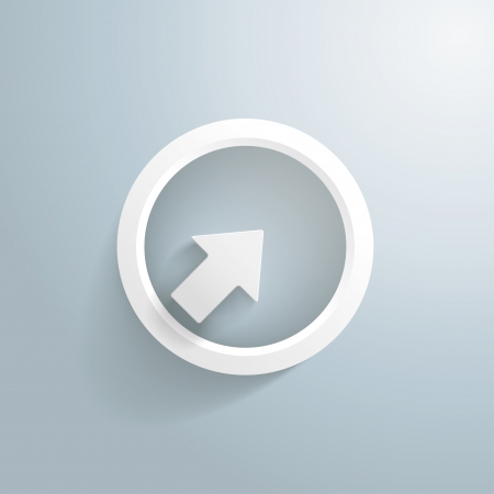 target arrow: White arrow with circle on the grey background.