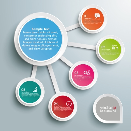 5 to 10: Infographic design on the grey background.