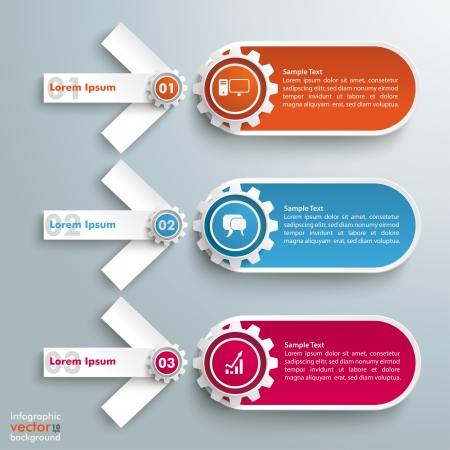 reklame: Infographic design on the grey background. Eps 10 vector file.