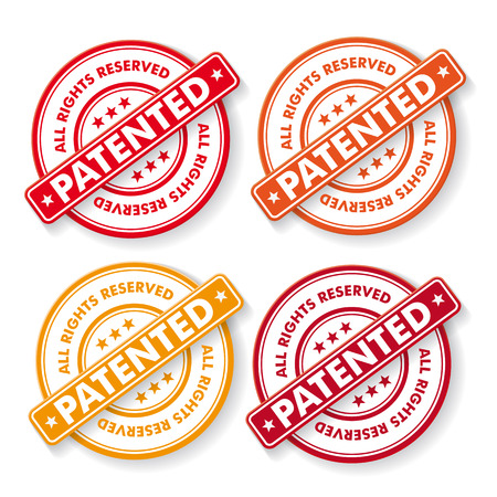 plagiarism: Free shipping colorful paper labels. Eps 10 vector file.