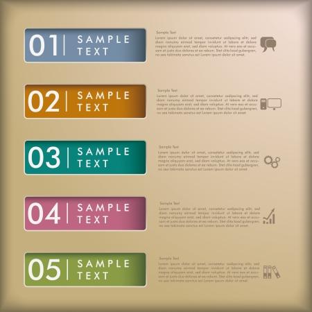 Weiße Rechtecke auf dem grauen Hintergrund. EPS 10 Vektor-Datei. Illustration