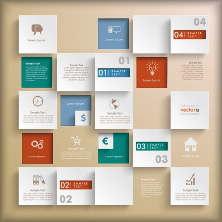 Infographic design on the grey background. Eps 10 vector file. Vector