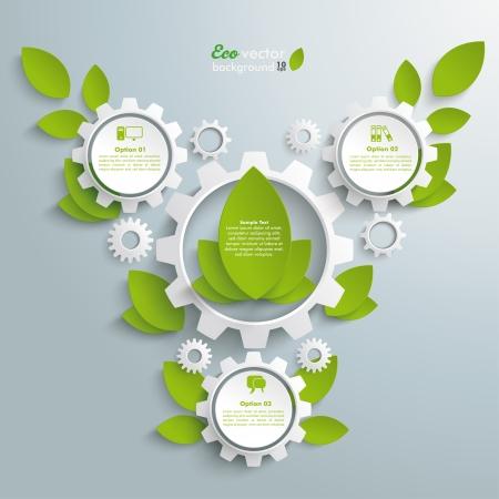 three wheel: Infographic design on the grey background.