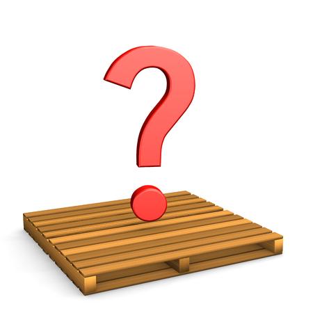 questionmark: Pallet Questionmark