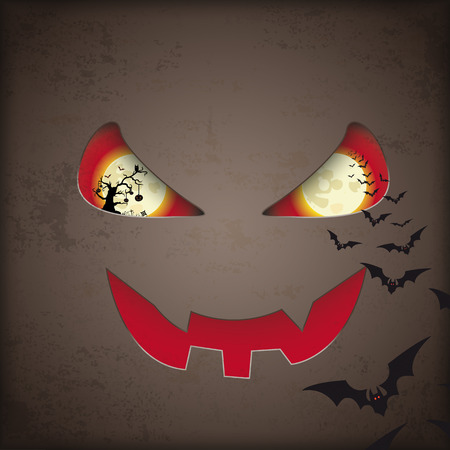 Vintage background design for halloween. Eps 10 vector file. Vector