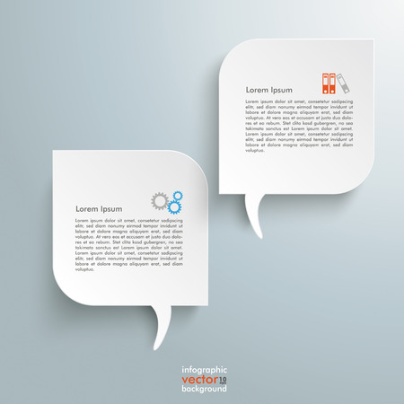 Template rectangles design on the grey background. Eps 10 vector file. Stock Vector - 27498300