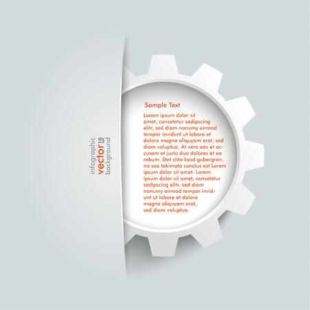 convert: Big convert gear on the grey background.  Illustration