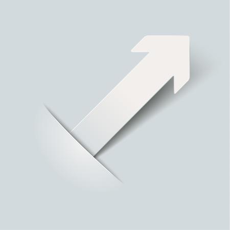 convert: Convert arrow on the grey background.
