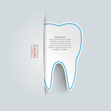 convert: Big convert tooth on the grey background.