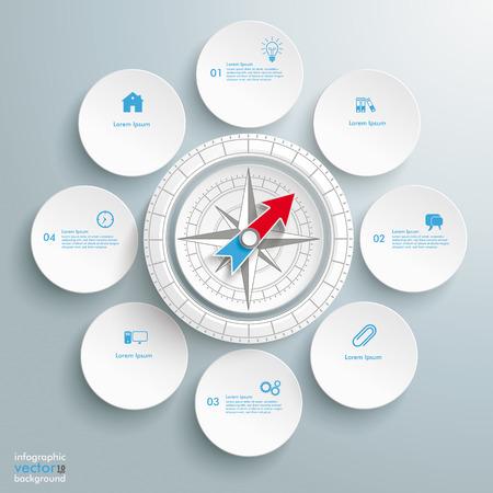 widget: Infographic design on the grey background.