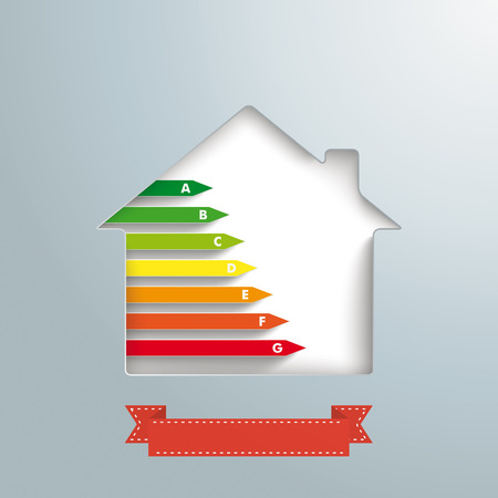fonds: House hole with energy pass and banner