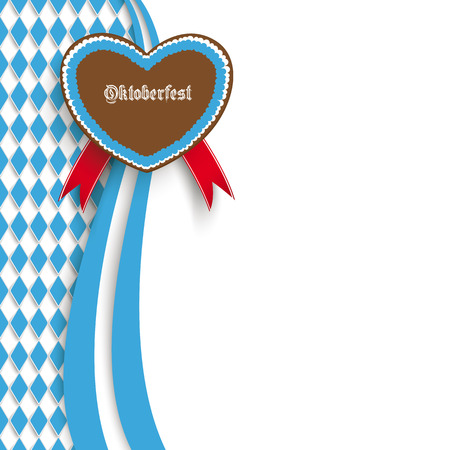 10: Oktoberfest design on the white background.  Eps 10 vector file. Illustration