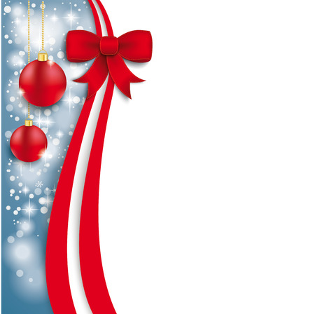 Christmas flyer design on the white background.  Eps 10 vector file. Vector