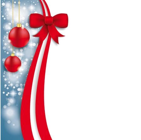 Christmas flyer design on the white background.  Eps 10 vector file. Vector