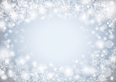x mas background: Snowflake winter background with stars. Eps 10 vector file.