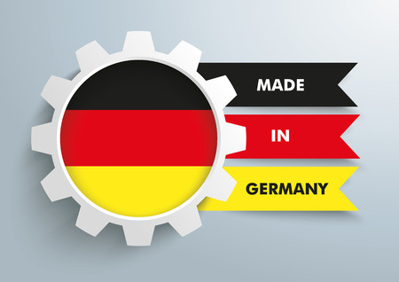 controll: White gear with german national flag.