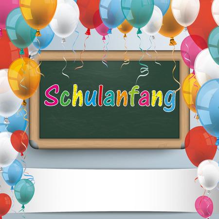 German text Schulanfang