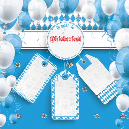 oktoberfest: Oktoberfest design on the white background. German text O´zapft is and Oktoberfest, translate on tap and Oktoberfest. Eps 10 vector file.