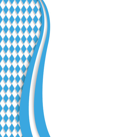 lozenge: Bavarian Oktoberfest background.  Eps 10 vector file. Illustration