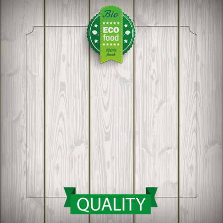 slat: Price stickers with german text Oeko Produkt, Bio, translate Eco product, Bio. Eps 10 vector file.