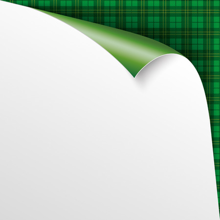 eps 10: Green irish tartan background. Eps 10 vector file.