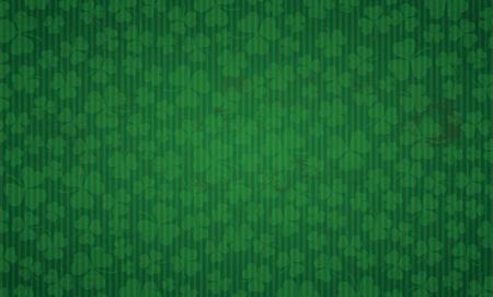 Vintage background with shamrocks for St Patricks Day. Eps 10 vector file.