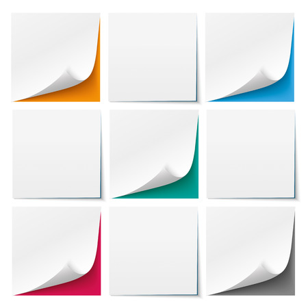 it background: 9 white sticks with colored background. Eps 10 vector file.