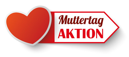 offerings: German text Muttertag Aktion, translate Mothers Day Sale.