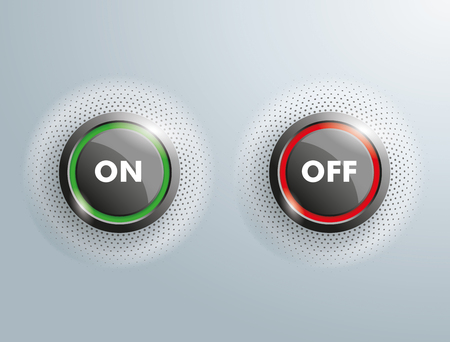 energize: 2 On Off buttons on the gray background.
