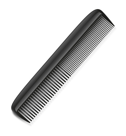 combs: Comb on the white background.