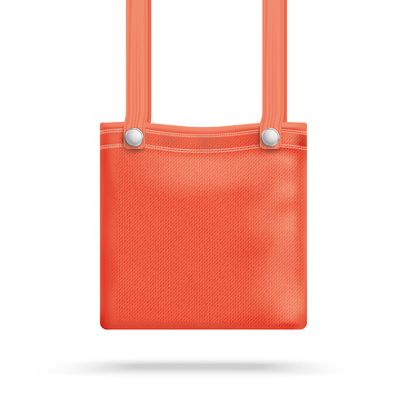 pocket book: Red purse on the white background. 10 vector file.