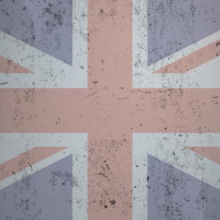 beton: UK flag on the concrete background. 10 vector file.