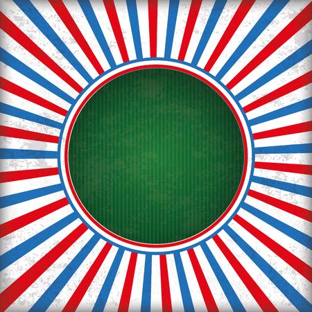 Fondo de color rojo y azul de la vendimia con el agujero verde. 10 archivos de vectores. Foto de archivo - 60454315