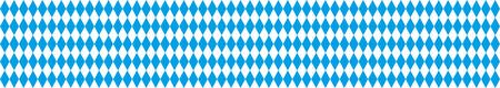 bavarian: Rhombus structure for bavarian national colors header. vector file. Illustration
